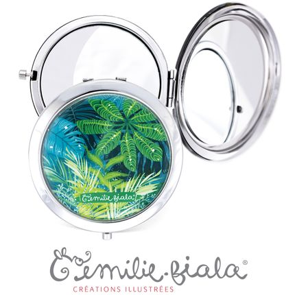 Travel accessories / suitcase - Pocket mirror Les Parisiennes - EMILIE FIALA