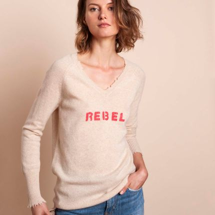 Ready-to-wear - Sweater REBEL - MADLUV CASHMERE GOES POP