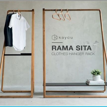 Shelves - Sita Clothes Hanger Rack - BEKRAF