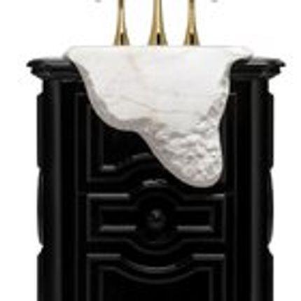 Meubles pour salles de bains - Petra Lavabo Sur Pied - COVET HOUSE