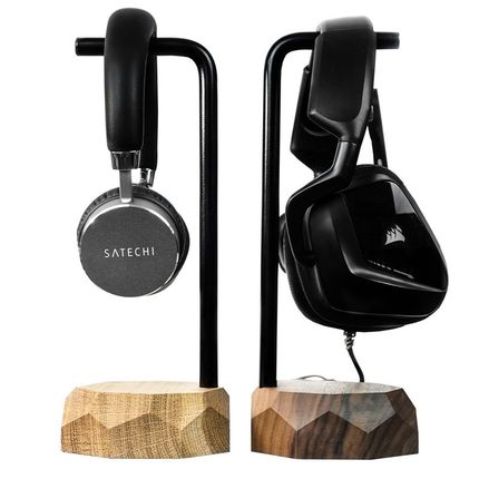 Storage box - Wooden headphone stand - OAKYWOOD
