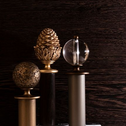 Rideaux / voilages - Fabrique Collection - Curtain Poles,  Finials & Holdbacks - Tillys
