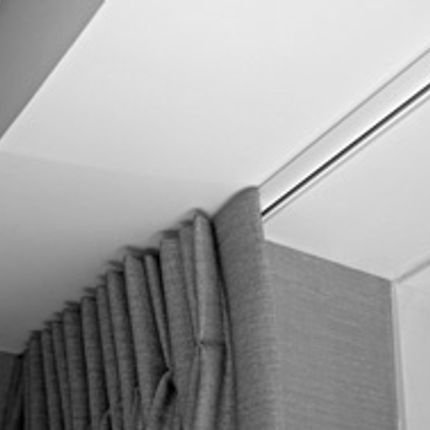 Curtains / window coverings - CTS 38 - Aura Curtain Track Systems - Aura