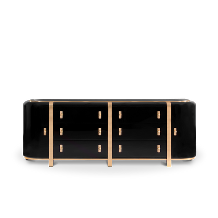Storage box - Kahn Sideboard  - COVET HOUSE