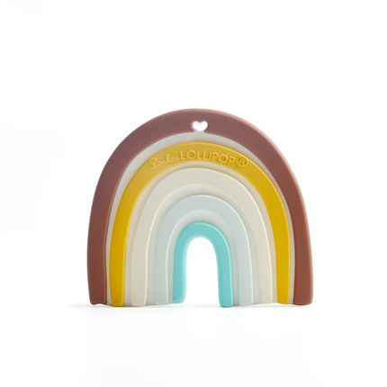 Toys - Rainbow Silicone Teether - LOULOU LOLLIPOP
