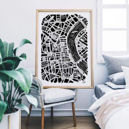 Affiches - AFFICHE - Plan de ville - TOKIKO