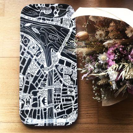 Objets de décoration - Petit plateaux - Plan de ville - TOKIKO