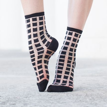Socks - Ginza Black - ATELIER ST EUSTACHE