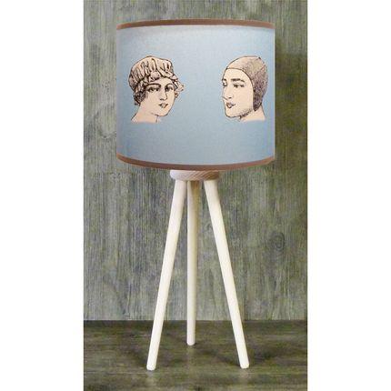 """Table lamps - SEA LAMPS COLLCTION """" TRIPODE """" - LA MAISON DE GASPARD / FP CONCEPT"""