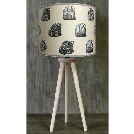 """Table lamps - SKI MOUNTAIN LAMPS COLLCTION """" TRIPODE """" - LA MAISON DE GASPARD / FP CONCEPT"""