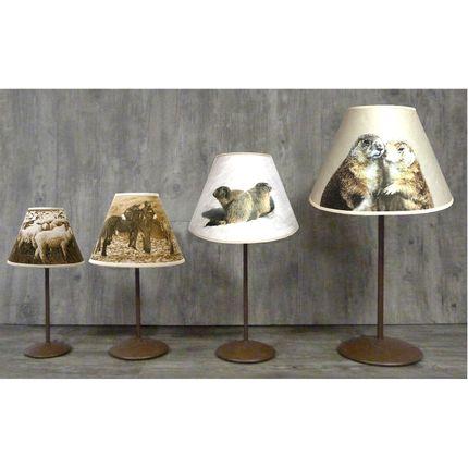 """Table lamps - MOUNTAIN LAMPS """" TALLOIRE """"COLLECTION - LA MAISON DE GASPARD / FP CONCEPT"""