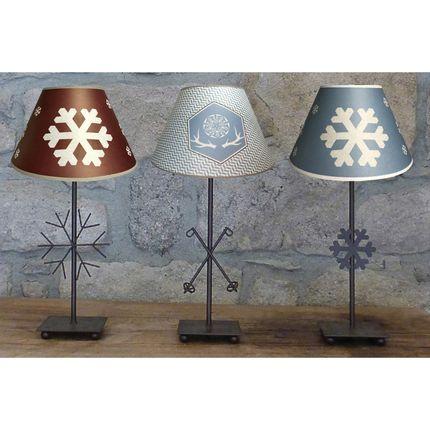 """Table lamps - MOUNTAIN LAMPS """" ZENITH """"COLLECTION - LA MAISON DE GASPARD / FP CONCEPT"""