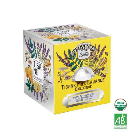 Café / thé - Tisane Miel Lavande Biologique - PROVENCE D ANTAN