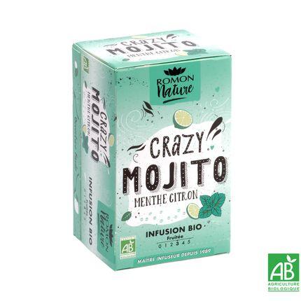 Café / thé - Infusion Crazy Mojito Bio - ROMON NATURE