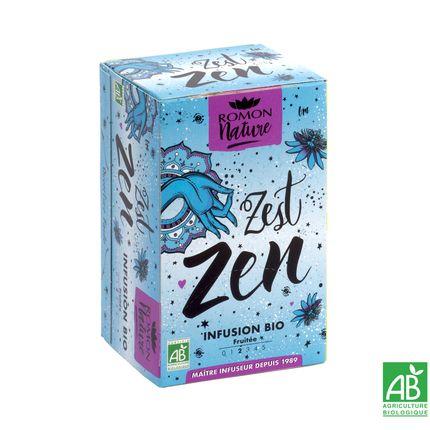 Coffee / tea - Organic Zest Zen Infusion  - ROMON NATURE