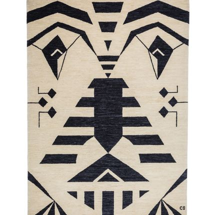 Contemporary - Tribal Black - Carpets CC