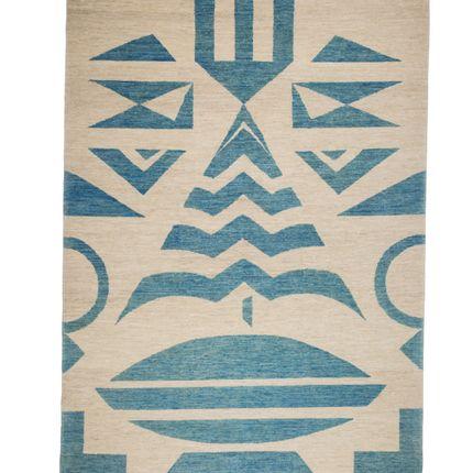 Contemporary - Tribal Blue - CARPETS CC