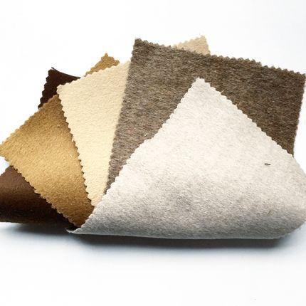 Objets de décoration - Collection Liso - Tissu de d'ameublement en Baby Alpaga - INNATA