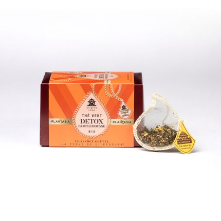 Coffee / tea - Organic Detox Grapefruit Green Tea - PLANTASIA