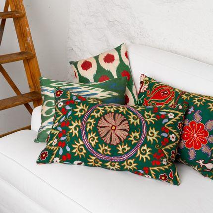 Cushions - Sky Garden Cushion - HERITAGE GENEVE