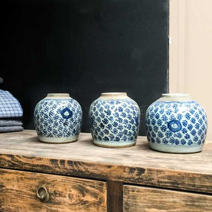 Pottery - Antique ginger jars - THE SILK ROAD COLLECTION