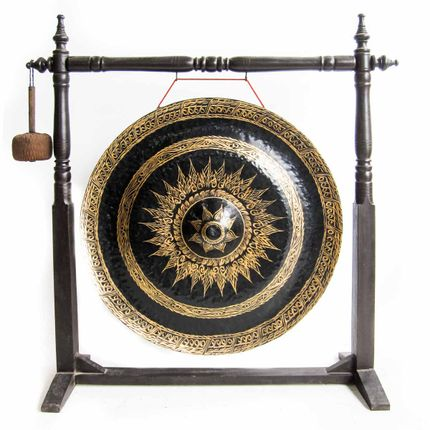 Decorative objects - XL Thai gong - THE SILK ROAD COLLECTION