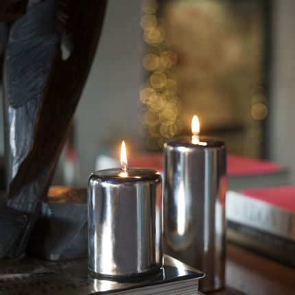 Candles - METALLIC CANDLES - CANDELE FIRENZE