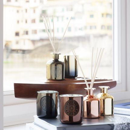 Scent diffusers - METALLIC DIFFUSERS - CANDELE FIRENZE
