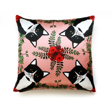 Cushions - CLEO Silk cushion - MY FRIEND PACO