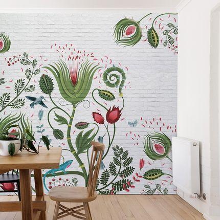 Wall decoration - Briques Végétales - LÉ PAPIERS DE NINON