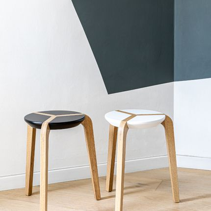 Tables - STOOL - BOULON BLANC