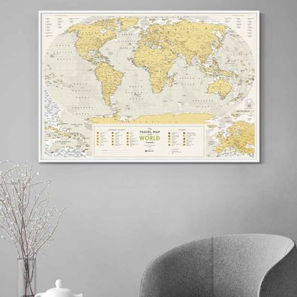 Gift - Travel Map® Geography World - 1DEA.ME DESIGN GIFTS