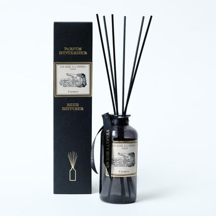 Scent diffusers - HOME REED DIFFUSER CARMEN - Cassie Flower and Tobacco leaves - UN SOIR A L'OPERA