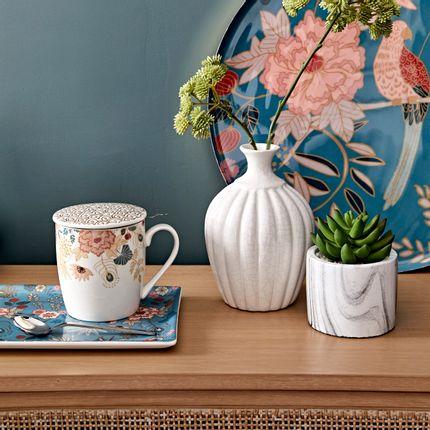 """Vases - Vase and mug """"Élégance végétale"""" - AMADEUS"""