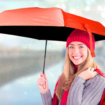 Gift - PILLBRELLA - the Umbrella in her capsule - CATWALK
