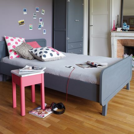 Children's bedrooms - Lit Rond 120x200 cm - LAURETTE