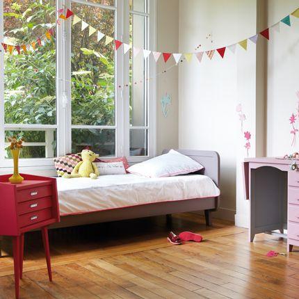 Children's bedrooms - Lit Rond 90x200 cm - LAURETTE