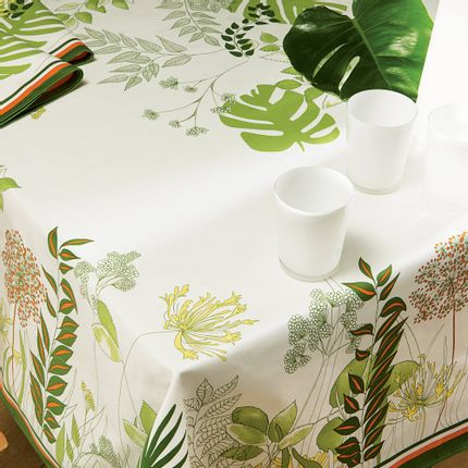 Linge de table - Nappe Agapanthes - BEAUVILLÉ