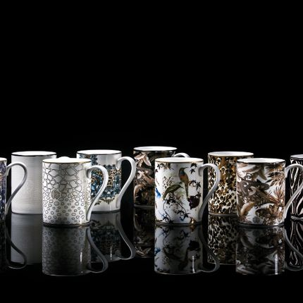 Tasses et mugs - MUG COLLECTION of various Roberto Cavalli designs - ROBERTO CAVALLI HOME TABLEWARE