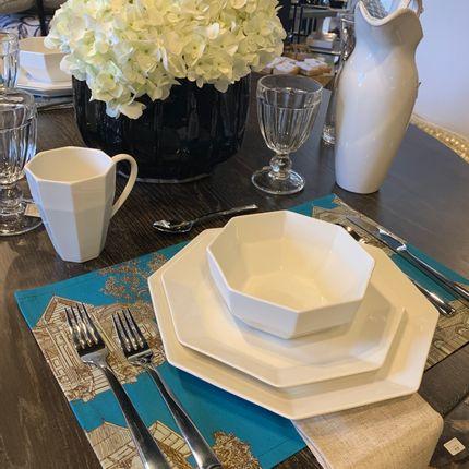 Linge de table - FYV-Gingerbread- Set de table -12x18 - YAËL & VALÉRIE