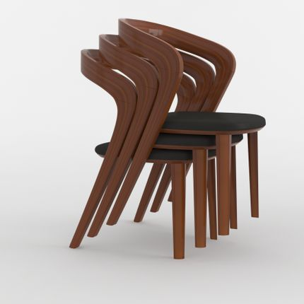 Chairs - Udi stackable chair - ARIANESKÉ