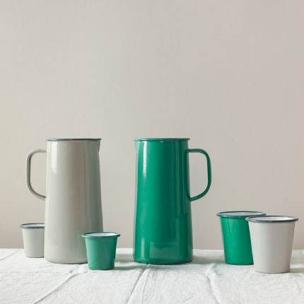 Kitchens - Spring Green & Oyster Grey - FALCON ENAMELWARE