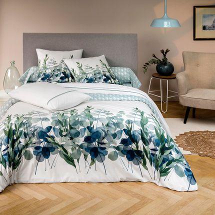 Bed linens - Collection Eucalyptus Percale of cotton - TRADITION DES VOSGES