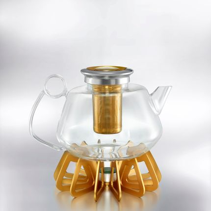 Crystalware - THE BREWMASTER - Tea Pot - SHAZE LUXURY RETAIL PVT LTD
