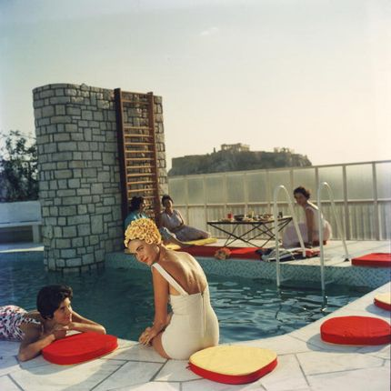 Décoration murale - Penthouse Pool - GETTY IMAGES GALLERY