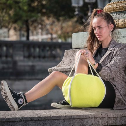 Sacs / cabas - SAC TENNIS BALL JAUNE - DALZOTTO