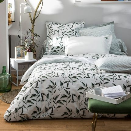 Bed linens - Bed linen Botanic percale of cotton - TRADITION DES VOSGES