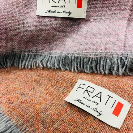 Throw blankets - LIGHT WOOL COLLECTION - FRATI HOME COLLECTION
