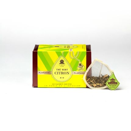 Coffee / tea - Organic Lemon Green Tea - PLANTASIA