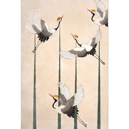 Wall decoration - Heron Nude - RUG'SOCIETY
